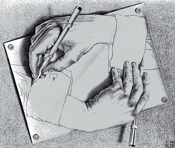 LA ZAD EN L'ÉTROIT TERRITOIRE - L'OUTRE-RÉEL IV.2 EscherHands