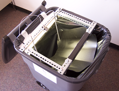 photograph: prototype garbage bin