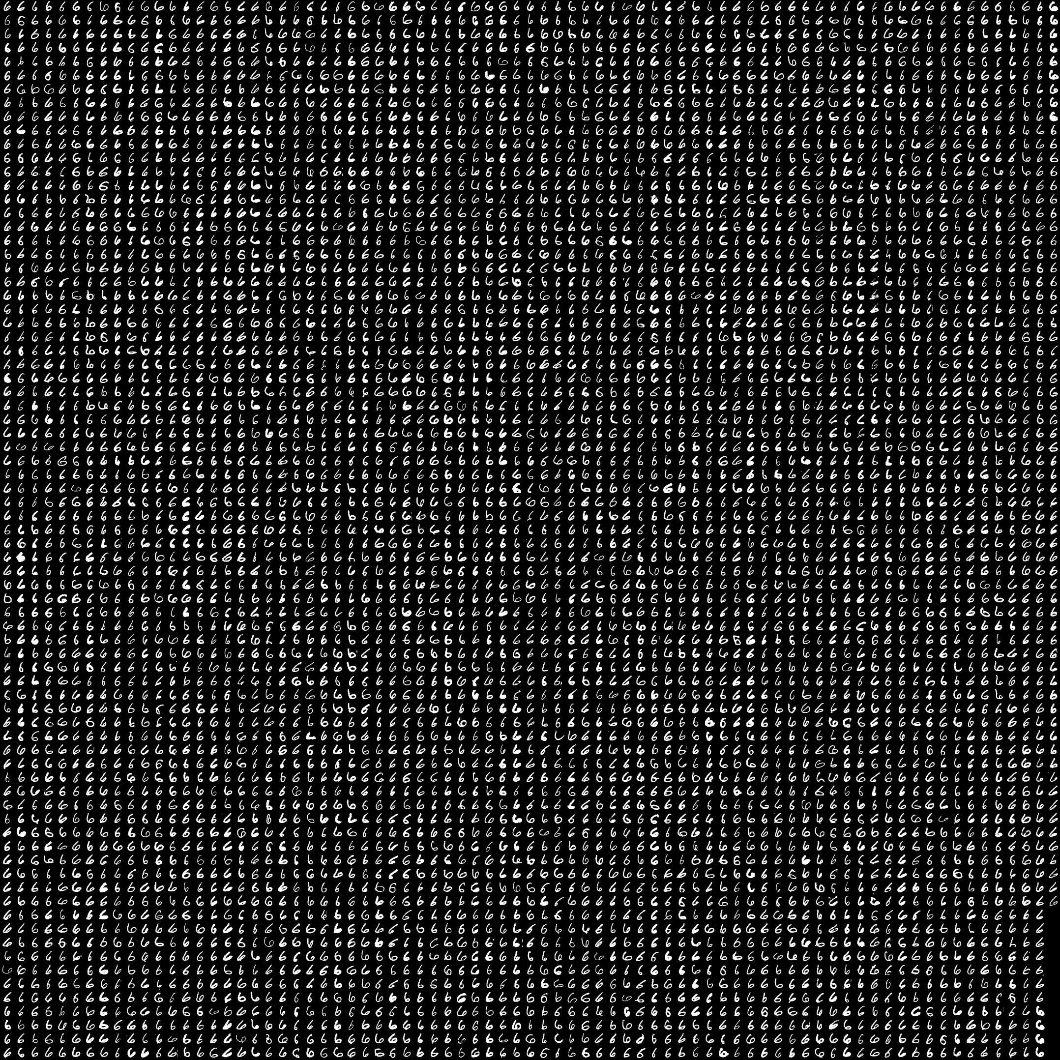 mnist手写数字数据库图片